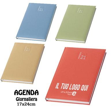 Cielo Agenda 2020 giornaliera 15x21 cm in matra copertina imbottita 1 pagina per giorno